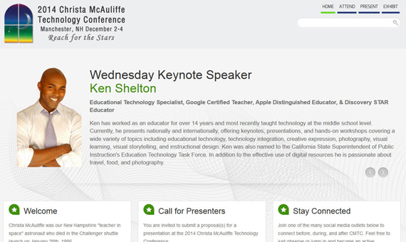 Christa McAuliffe Technology Conference